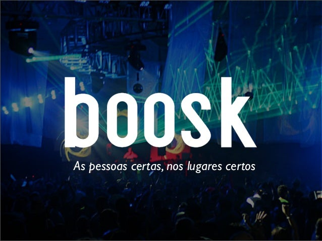 Boosk pitch deck