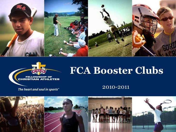 FCA Booster Clubs<br />2010-2011<br />