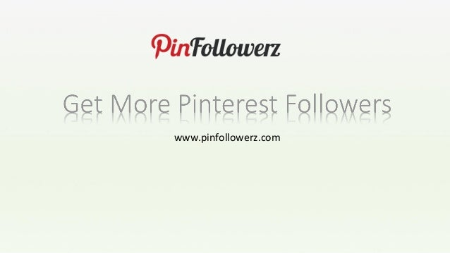 Boost your pinterest followers