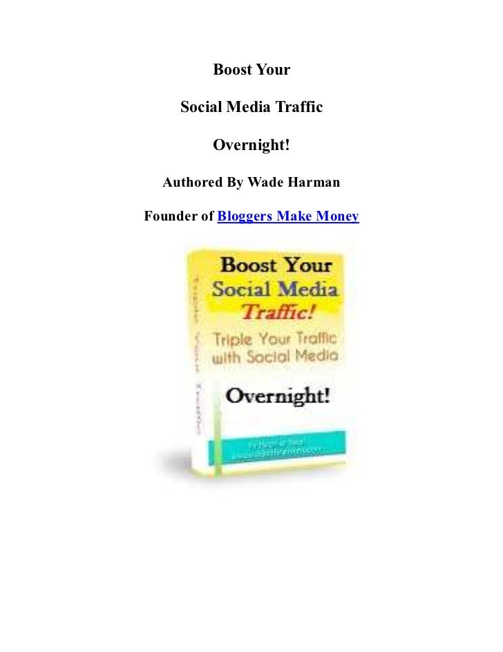 Boost Your Social Media Traffic Overnight