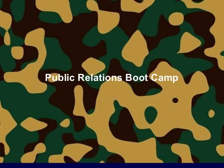 Boot Camp for Georgetown SCS Students