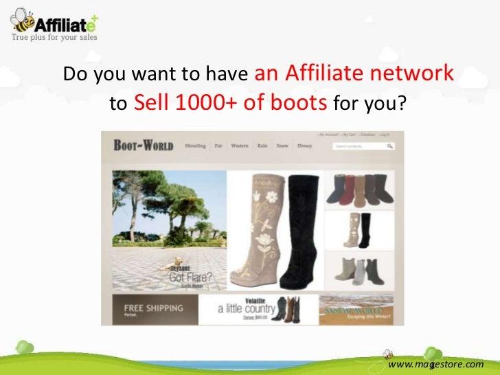 Boot world.com affiliate plus