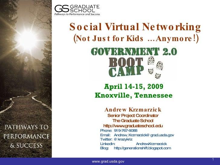 Boot camp social virtual networks 2