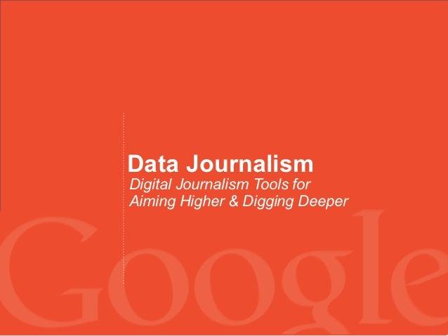 dBOOTCAMP - Intro to Data Journalism