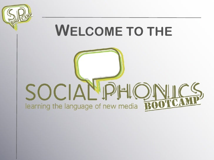 Social Phonics Bootcamp