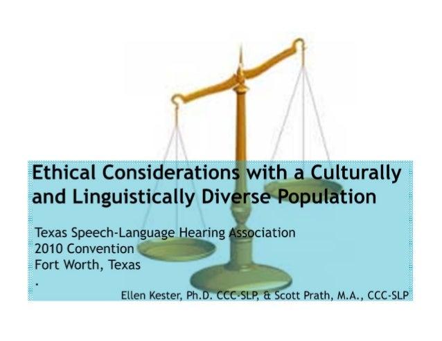 LearnerObjectives Participantswill: • Reviewlawsandcodesofethicspertainingtospeech languagepathologists • Hi...