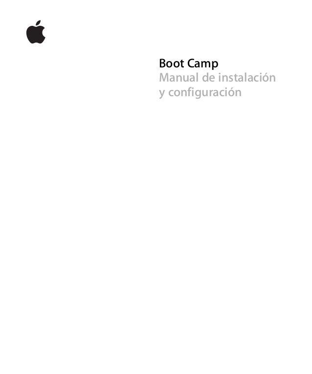 Boot Camp Manual de instalación y configuración