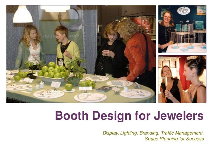 Booth design for jewelers