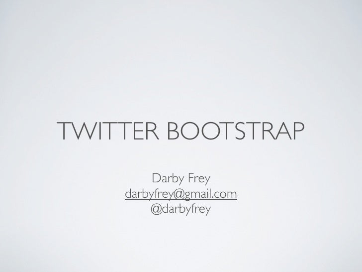 Twitter Bootstrap (spring)