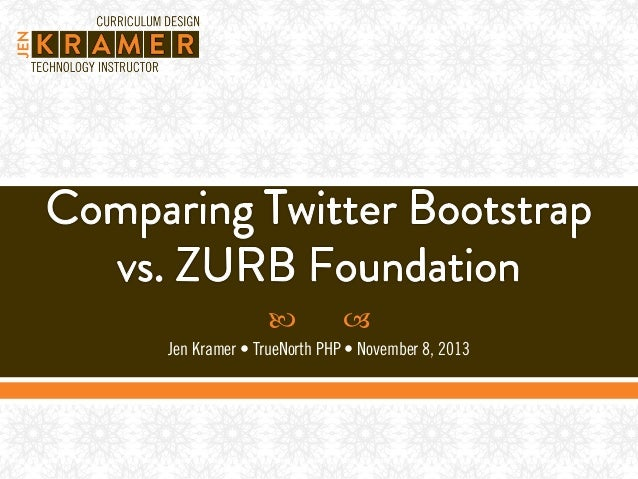 Twitter Bootstrap vs ZURB Foundation Version 3
