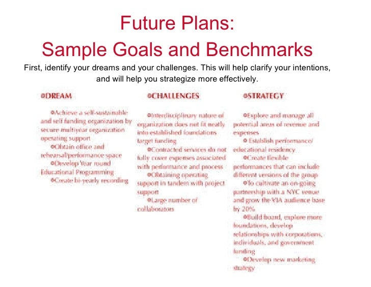 essays on future goals Keep in mind the following things if you want to have and achieve future goals: goals do not know time limits - deadlines are for people, it creates pressure which could be either useful or useless.