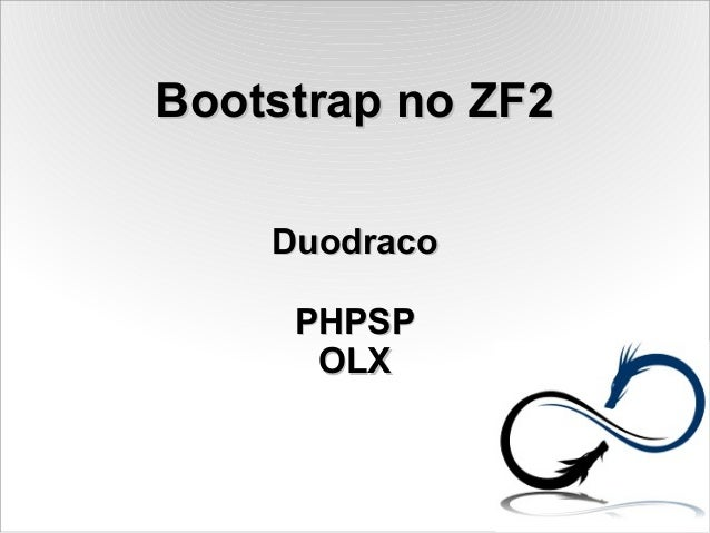 7Masters - Bootstrap no ZF2