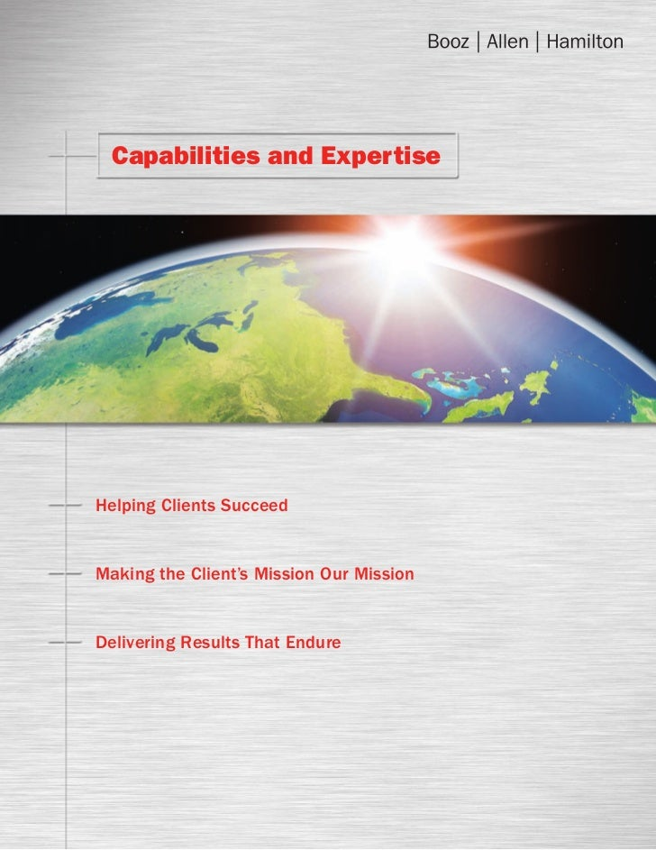 Booz allen capabilities_and_expertise_brochure