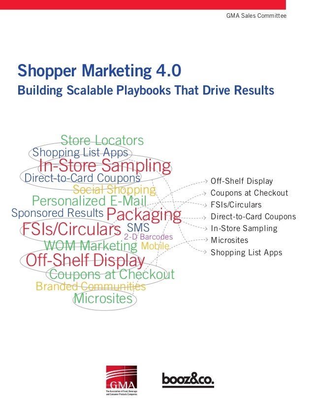 Mobile Packaging Shopper Marketing 4.0 Building Scalable Playbooks That Drive Results  GMA Sales Committee Off-Shelf Disp...