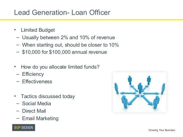 Loan Officer Marketing Lesson 3