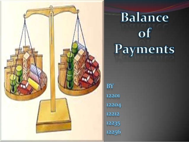 Balance of Payment problems of India
