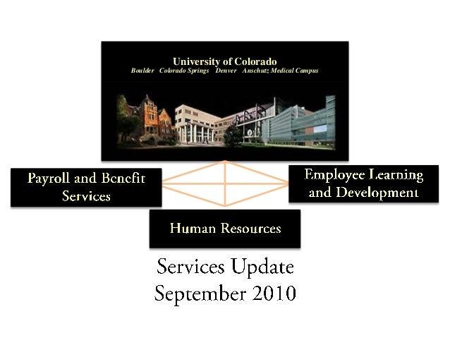 University of Colorado Boulder Colorado Springs Denver Anschutz Medical Campus