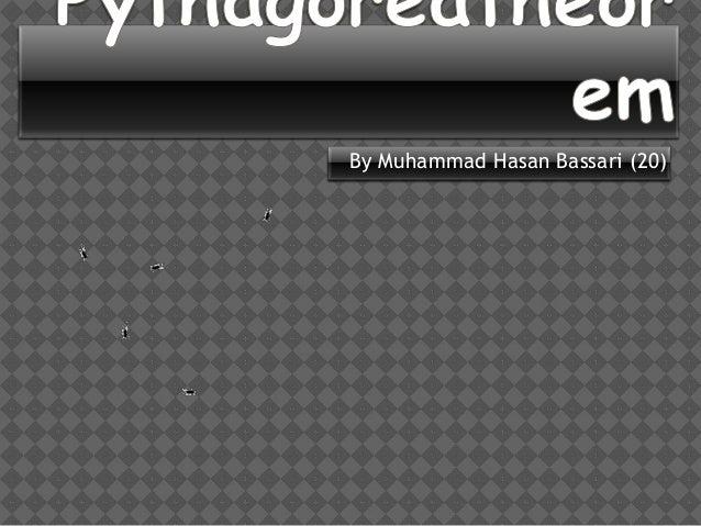 prensentasi mengenai pythagoras