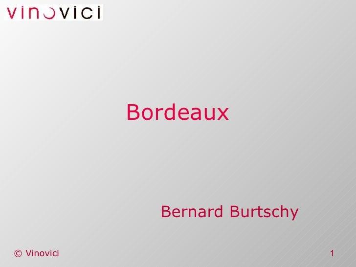 Bordeaux Bernard Burtschy