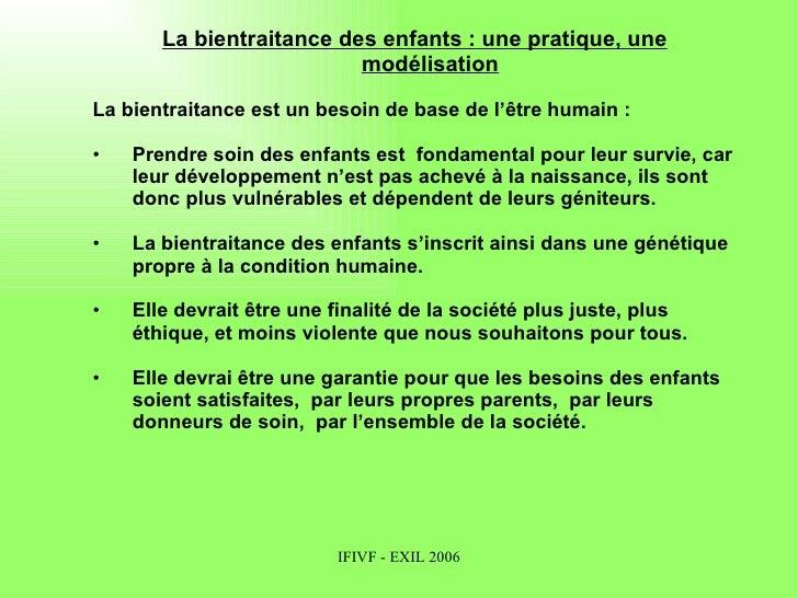Bordeaux 2007 Bientraitance Des Enfants