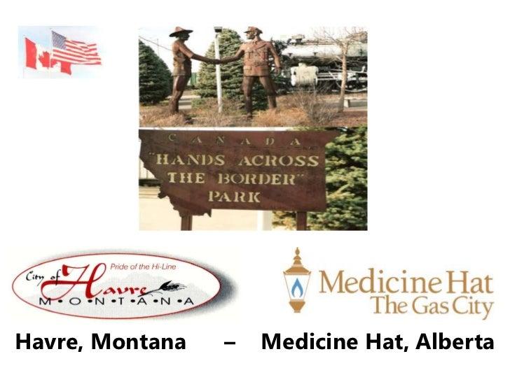 Havre, Montana   –   Medicine Hat, Alberta