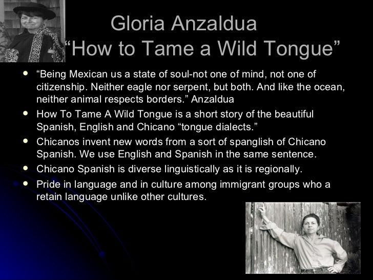 taming a wild tongue