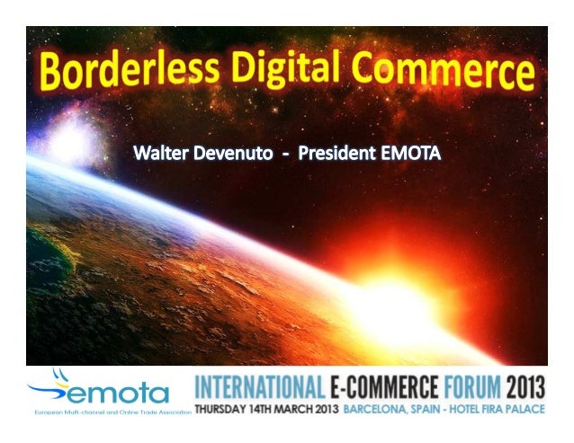 EMOTA represents 3,500 multi-channel/online retailers in 15 countries • 15 European countries • 16 member associations • 3...