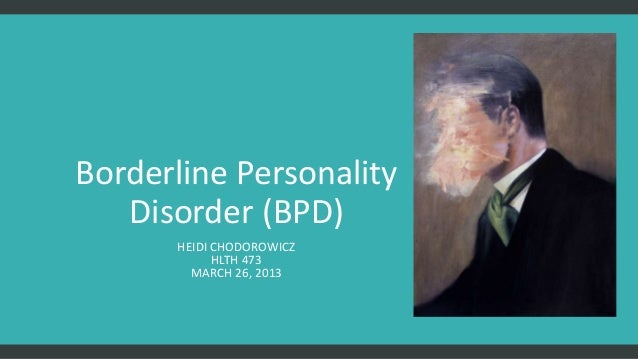 personality disorders borderline disorder