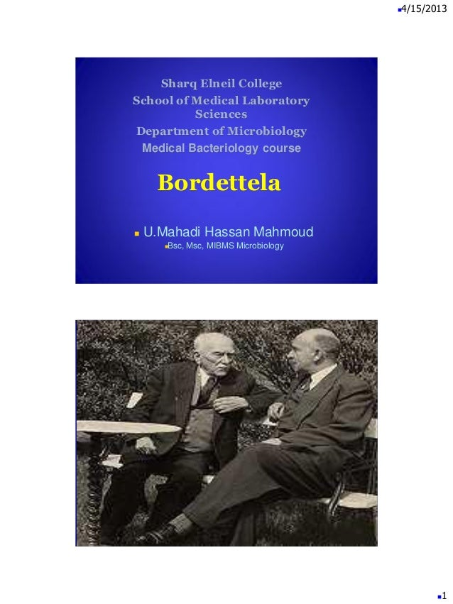 Bordetella mahadi ppt