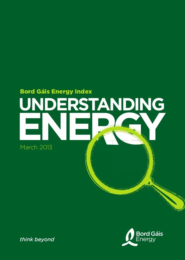 March 2013 Energy Index - Bord Gáis Energy