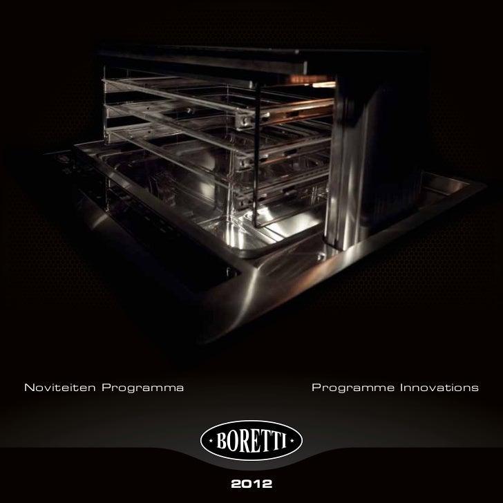 Noviteiten Programma          Programme Innovations                       2012