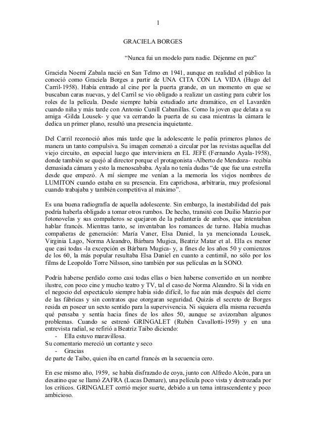 GRACIELA BORGES - DAMAS PARA LA HOGUERA