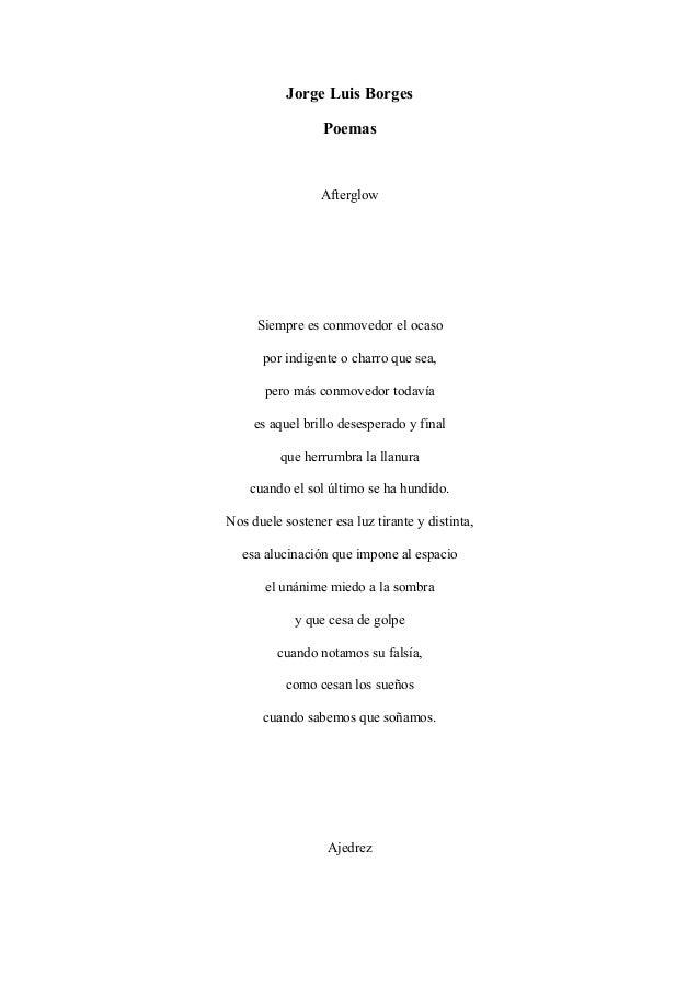 Borges Amor Luis Borges Frases de Amor