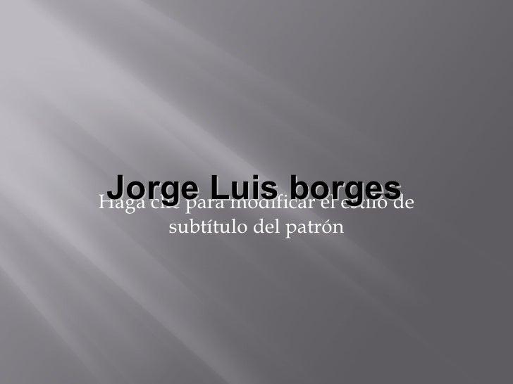 Borgesyboom