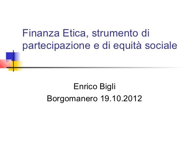 finanza etica, finanzcapitalismo, economia etica
