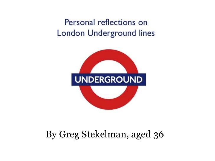Boring Tube line presentation by Greg Stekelman