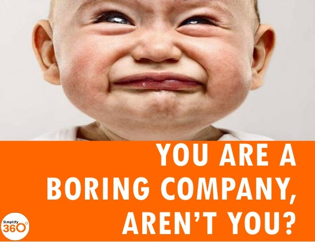 You are a Boring company, Aren't You?