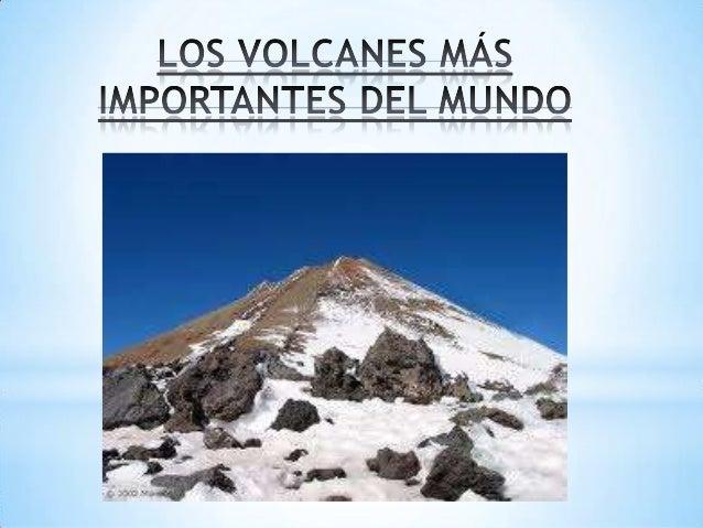 * Tipo: Volcán de cono compuesto. Ubicación: Tenerife, España. Coordenadas: 28º16`21`N 16º38`33`O. Altitud:3.718 m. Última...