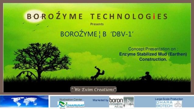 BoroZyme Technologies ( Enzyme based Sun-Dried Bricks and Earthen House building)