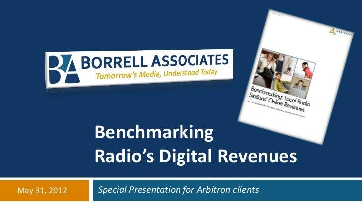 Borrell arbitron webinar may 31 2012 distribution copy
