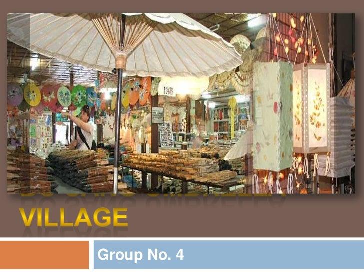 Bo sang Umbrella Village in Chiang Mai