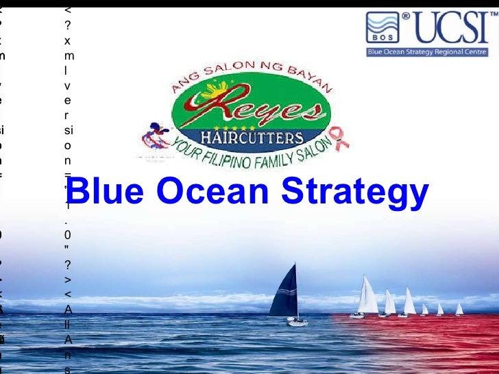 Blue Ocean Strategy: Reyes Haircutters