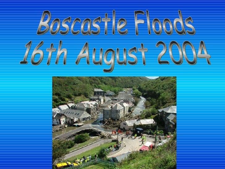 Boscastle Floods 16th August 2004