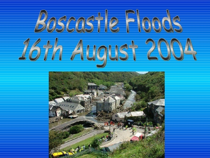 Boscastle Floods 16th August 2004
