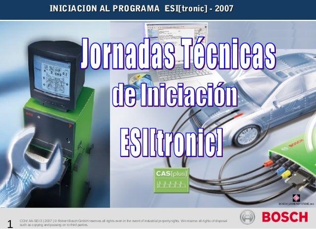 Bosch esitronic ini07