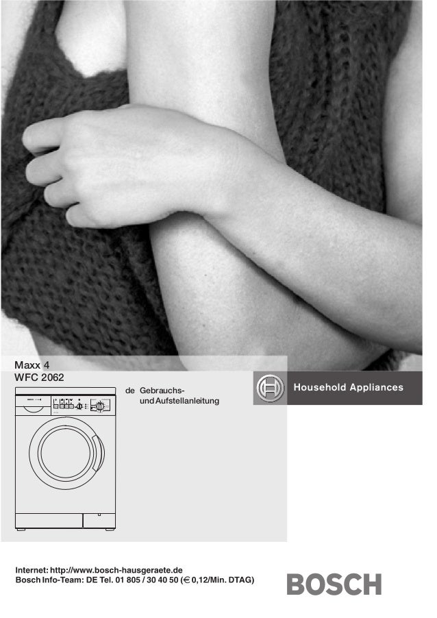 Bosch instruction manual