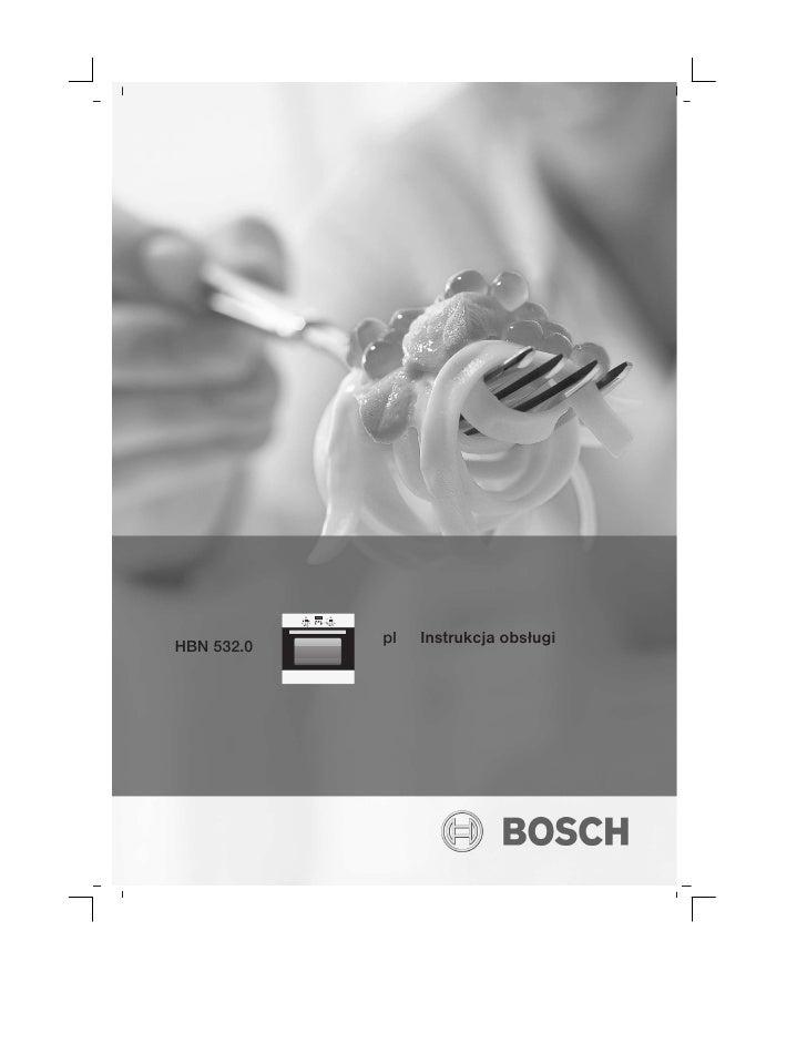Bosch Oven Pl