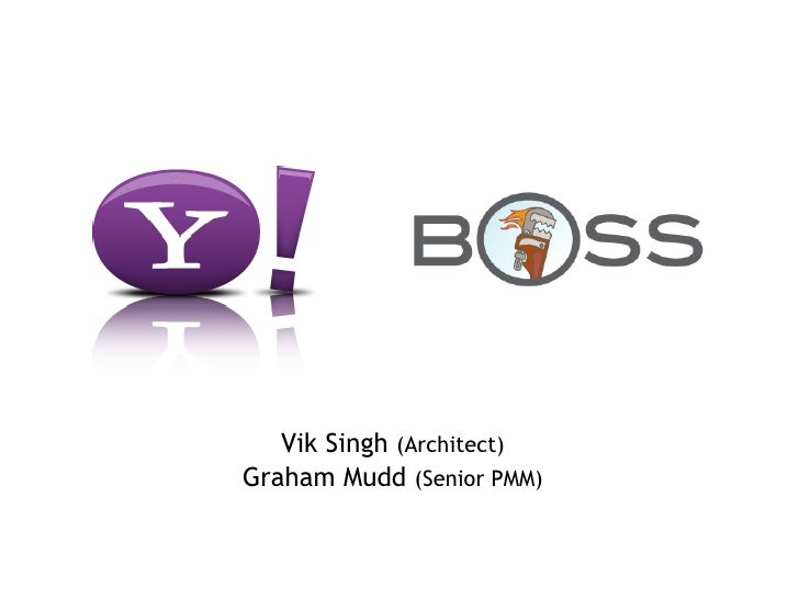 Yahoo! Search BOSS Hack Days in Paris and London