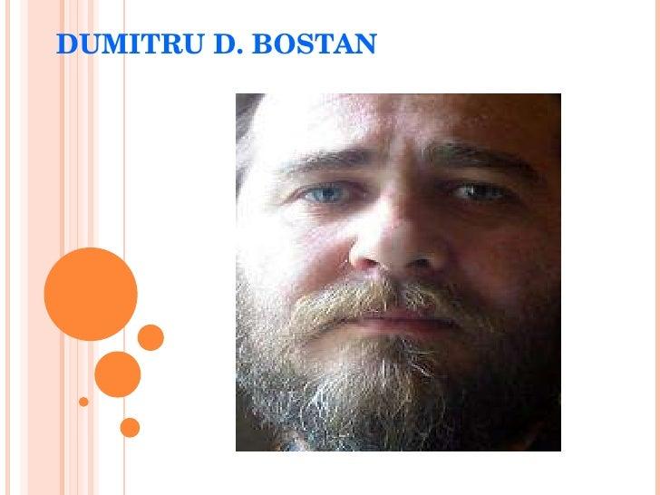 DUMITRU D. BOSTAN