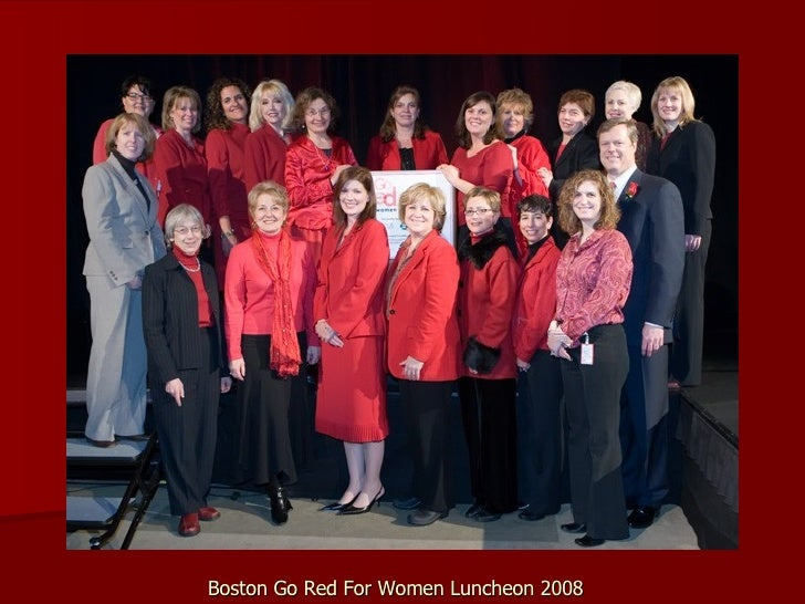 Boston Go Red For Women Luncheon 2008